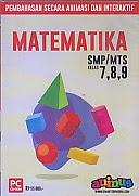 toko buku rahma: buku CD PEMBELAJARAN SMARTEDU SMP/MTS  MATEMATIKA Kelas 7,8,9, pengarang smart edumedia