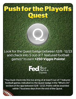 Push for the Playoffs, Viggle, Viggle Quest, Viggle Mom