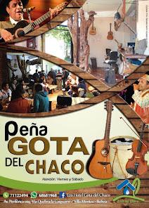 PEÑA GOTA DEL CHACO