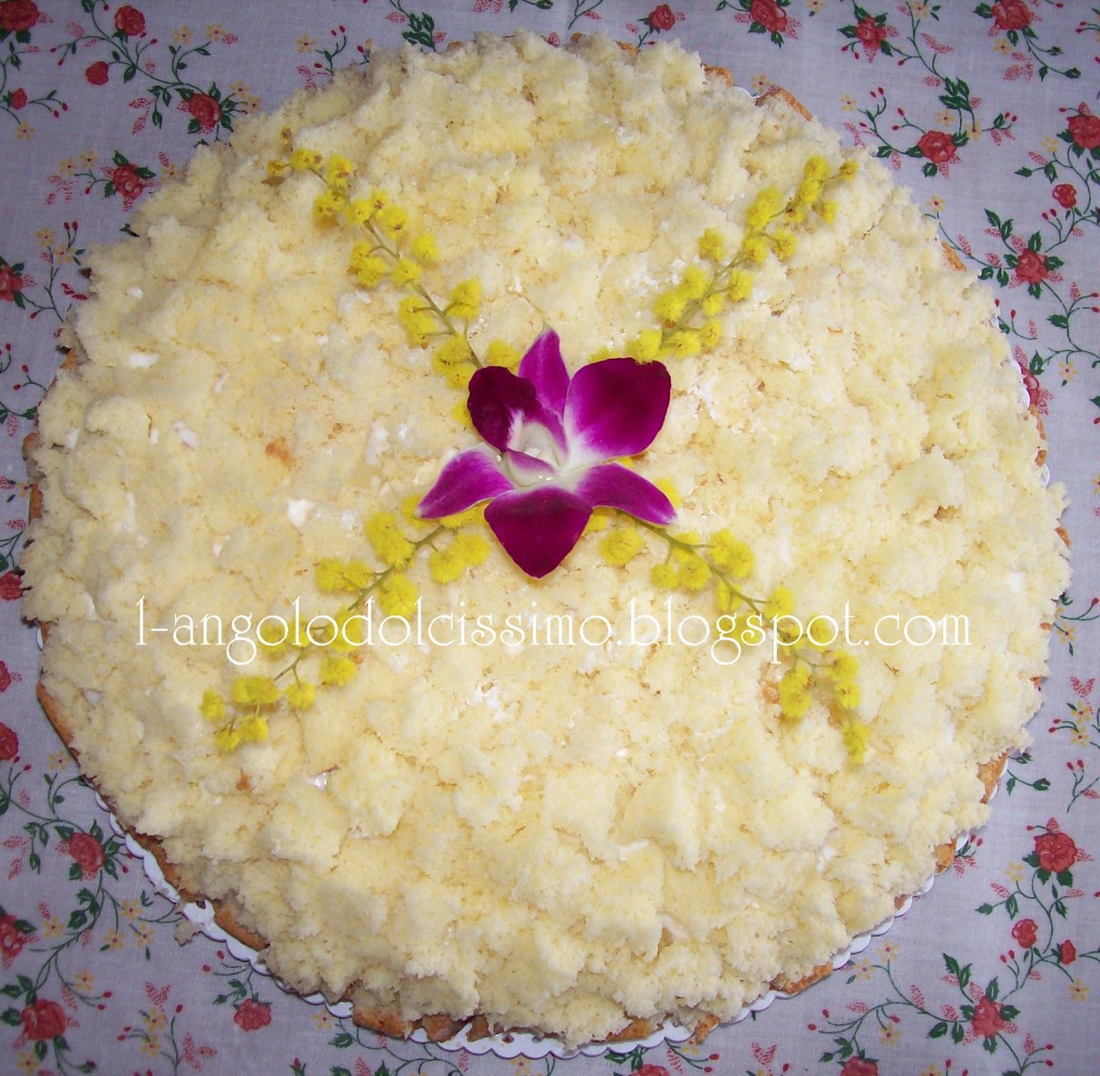 l 39 angolo dolcissimo torta mimosa