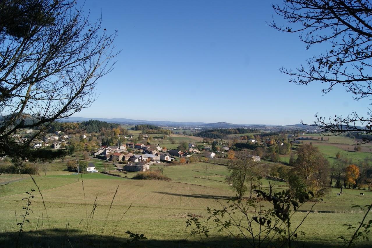 Un village en Haute-Loire
