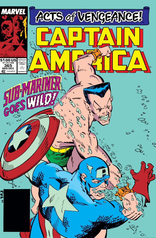 Captain America (1968) Issue #365 #298 - English 1