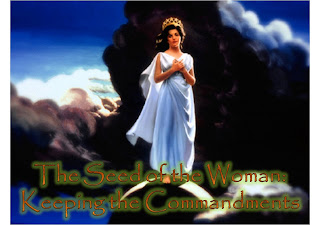 seed of woman-keeping commandments