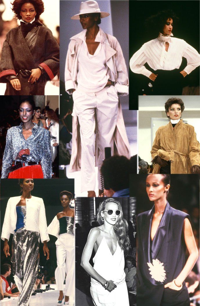 Gianfranco Ferre designs Spring/Summer and Fall/Winter 1979-1983