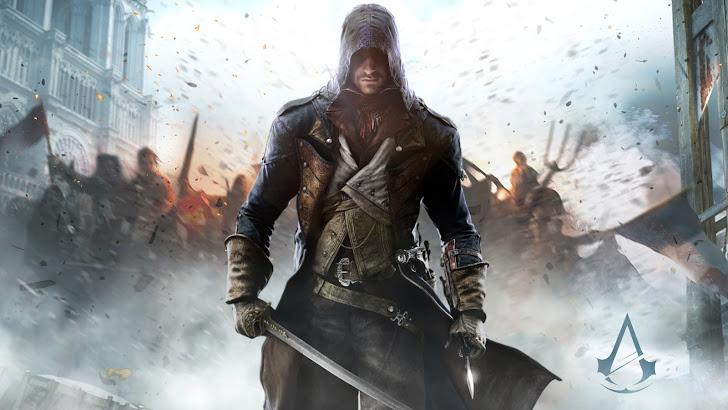 Assassin's Creed Unity w Logo
