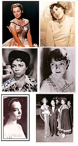 Autographed Movie & TV star photos: 2 for $50 FREE ship Patricia Neal, Helen Hayes, Shelley Winters
