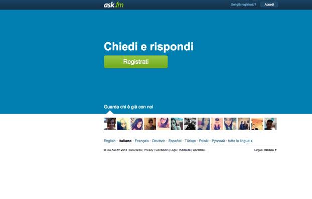 Ask Bullismo Online