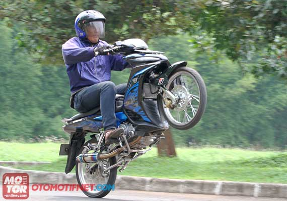 Foto Modifikasi Motor Yamaha Jupiter mx 2014 title=
