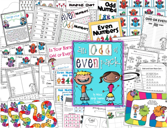 http://www.teacherspayteachers.com/Product/An-Odd-and-Even-Pack-1204823