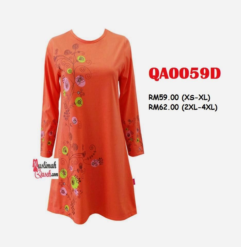 T-Shirt-Muslimah-Qaseh-QA0059D