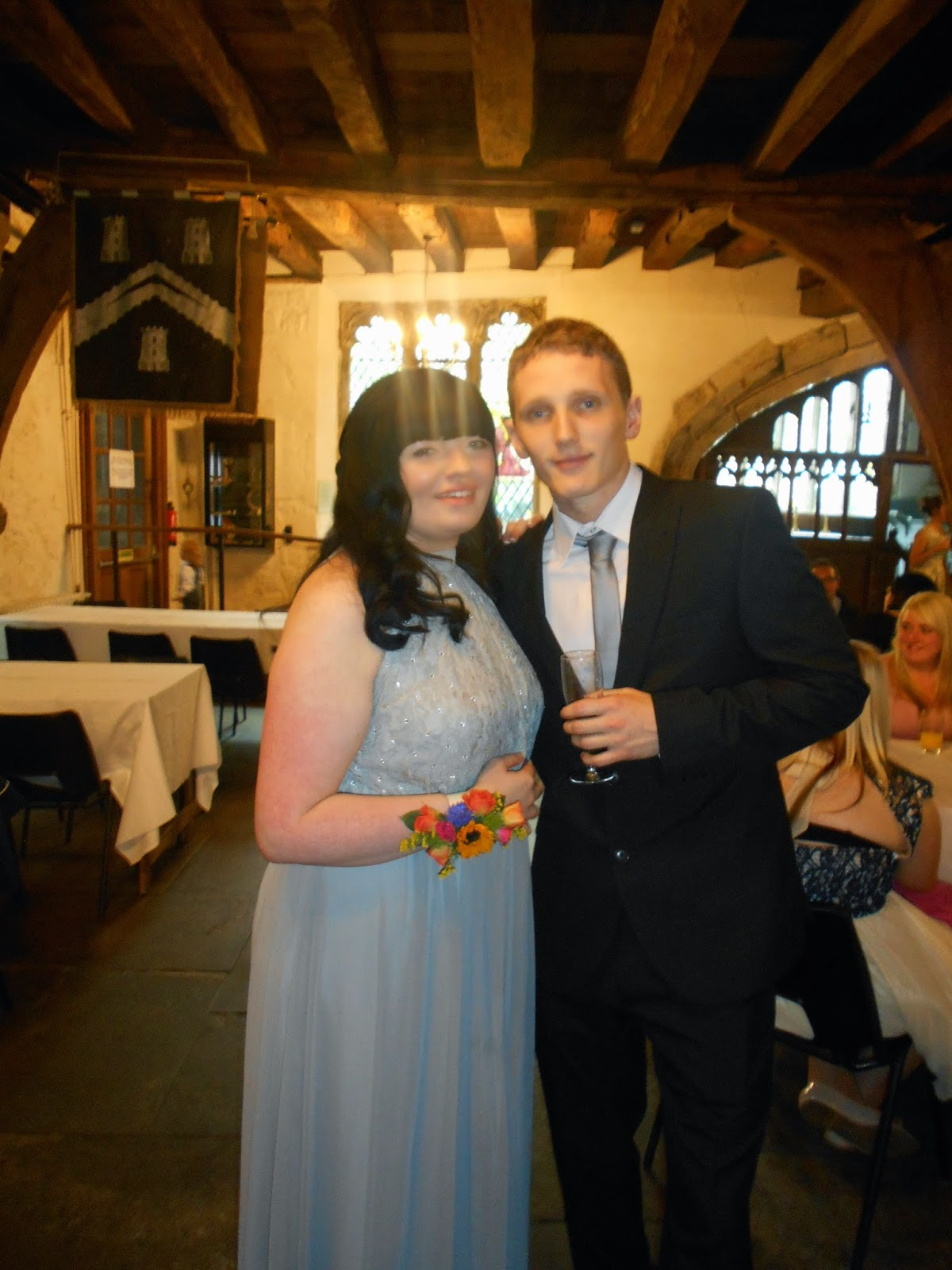 Myself and Gaz - Bridesmaid and Fiancé
