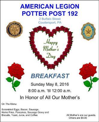 5-8 American Legion Post 192