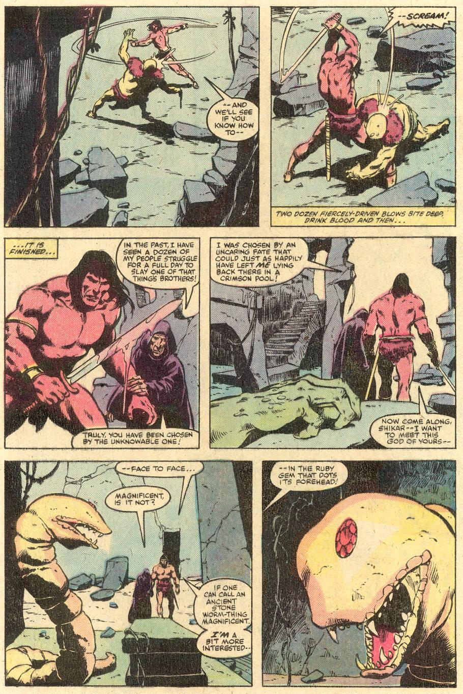 Conan the Barbarian (1970) Issue #126 #138 - English 11