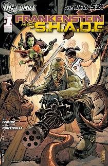 "Komiks ""Frankenstein: Agent of S.H.A.D.E."""