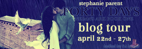 Blog Tour: Forty Days by Stephanie Parent