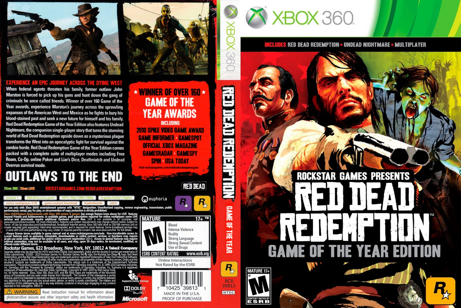 Amazoncom red dead redemption game of the year edition