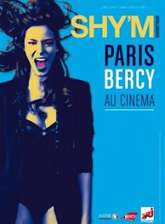 SHY'M Shimitour Bercy au cinéma