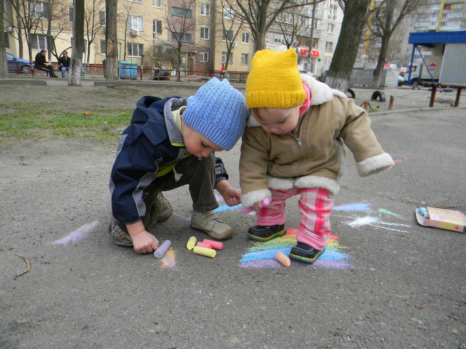 Конкурсы рисования на улице