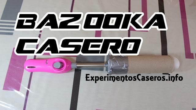Cómo hacer un lanza pelotas de Ping Pong, mini Bazooka casero, experimentos caseros, armas caseras