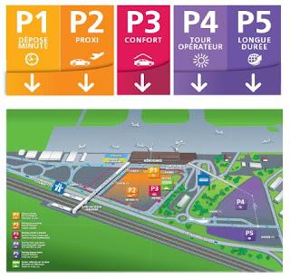 Parking gratuit aéroport de Strasbourg