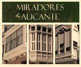 Miradores artisticos de Alicante