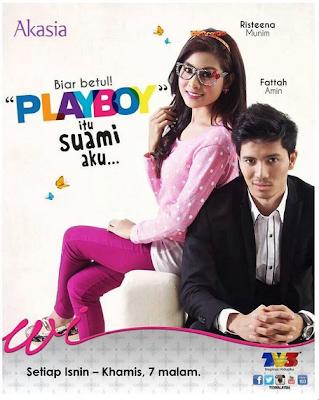 Playboy Itu Suami Aku Full, Akasia terbaru 2013, Fattah Amin, Risteena Munim
