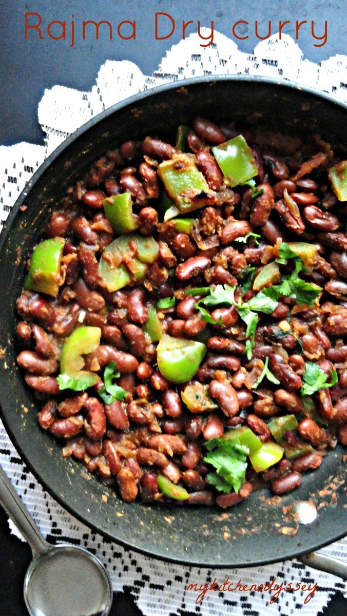 Rajma dry curry
