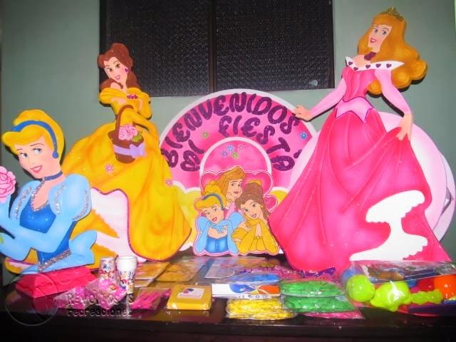 Castillos infantiles disney imagui - Fiestas infantiles princesas disney ...