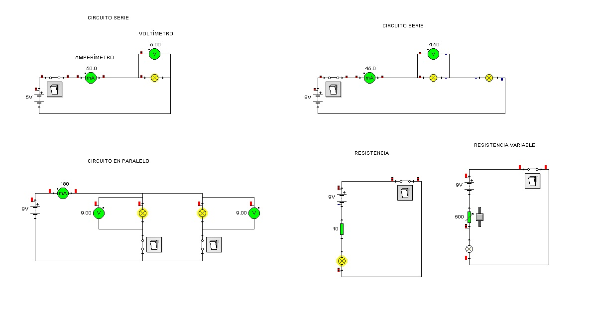 Circuito Paralelo Y En Serie : Diferencias entre circuito electrico en paralelo y serie