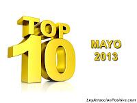Top 10 - Mayo 2013