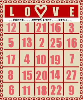 Valentine's Day Bingo 4