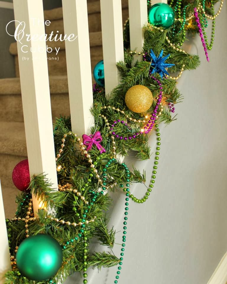 The Creative Cubby Decorating For A Mardi Gras Christmas