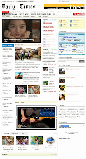 Daily-Times is Newspaper Blogger Magazine Theme