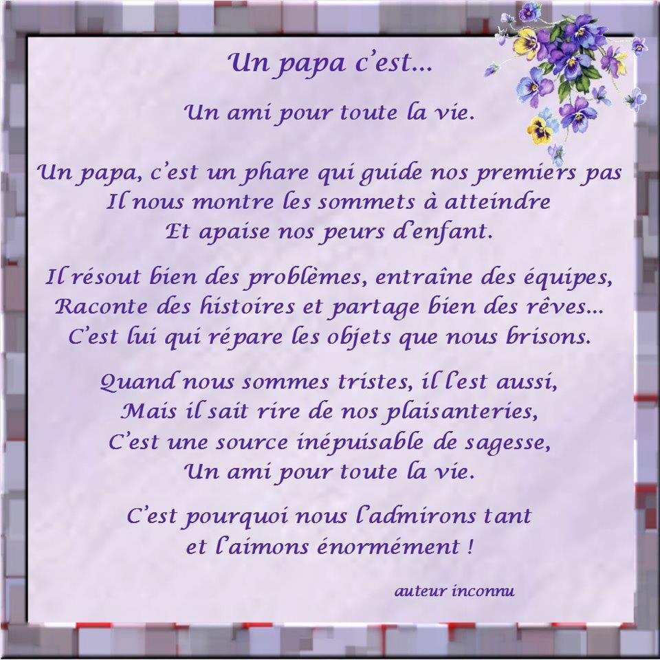 Assez Nice Love Quotes: Belle Phrase D'amour Pour Un Papa JP69