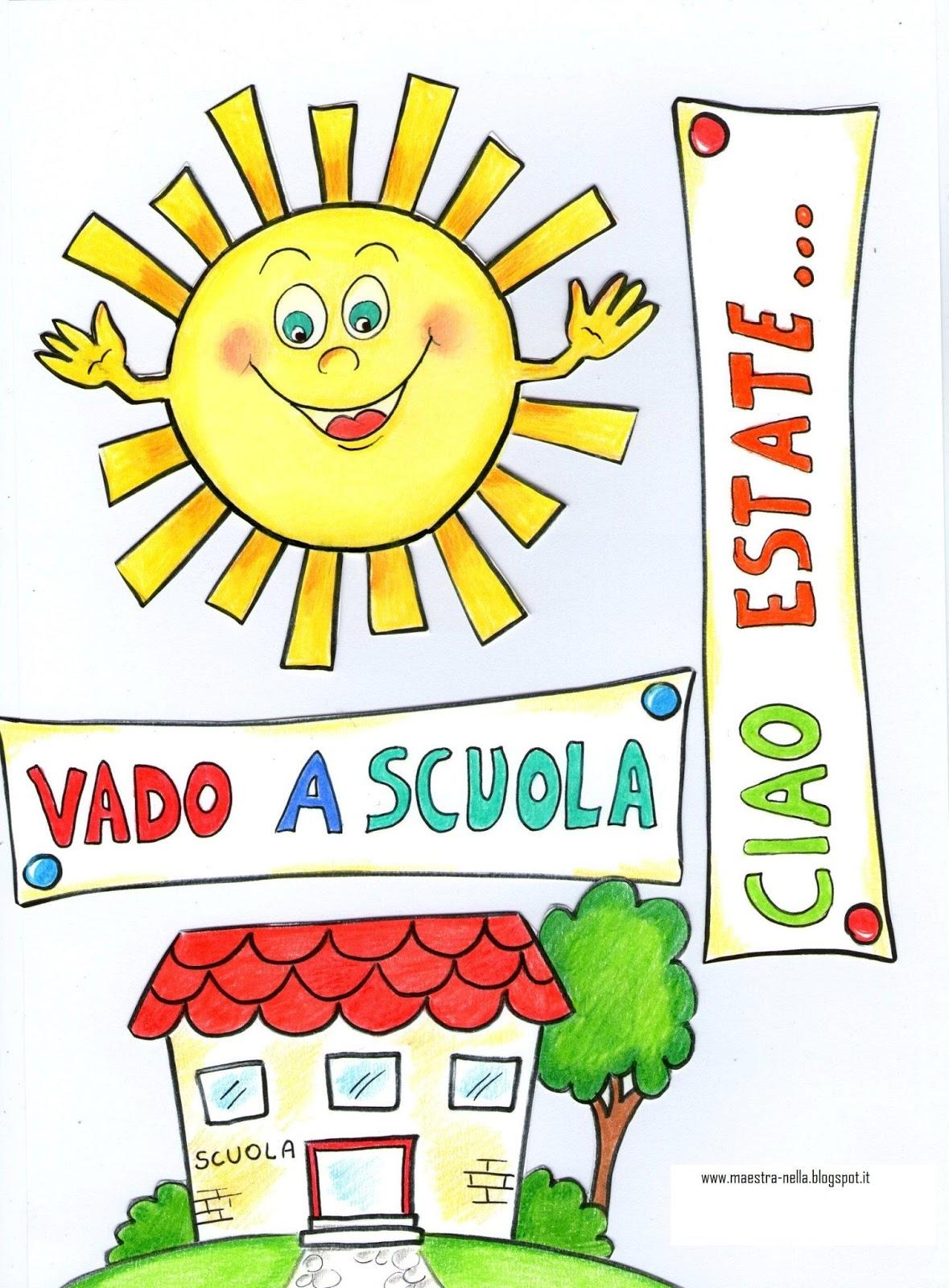 Maestra nella libricino 39 ciao estate vado a scuola 39 for Idee per l accoglienza nella scuola dell infanzia