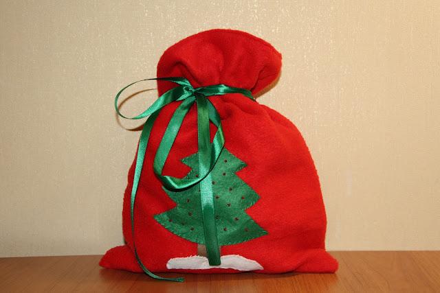 Мешки подарки своими руками 24