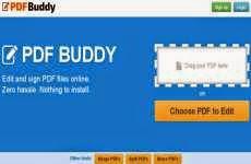 PDF Buddy: permite editar documentos Pdf online en forma gratuita