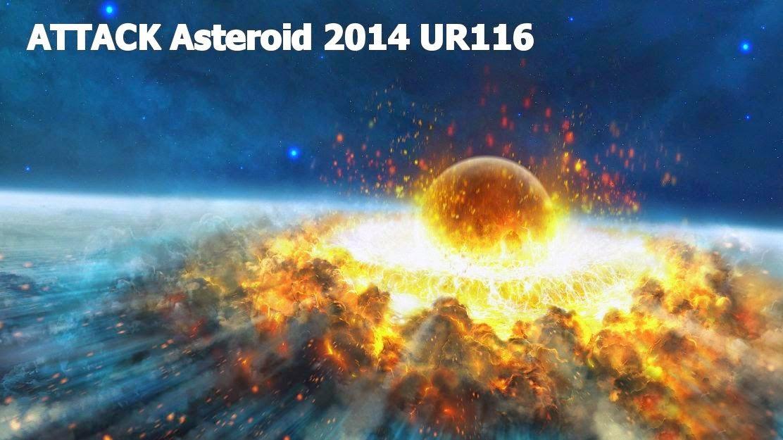 Attaque Astéroïde 2014 UR116, A 400 mètres taille astéroïde géocroiseur, Représente aucune menace p