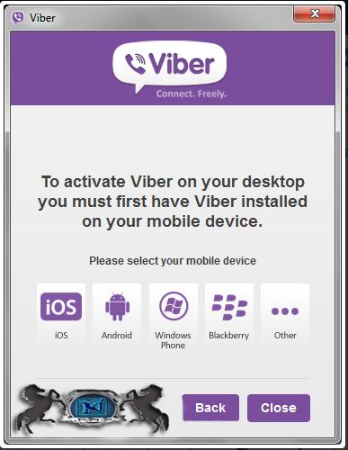 Viber for Windows 5.3.0 Screenshot