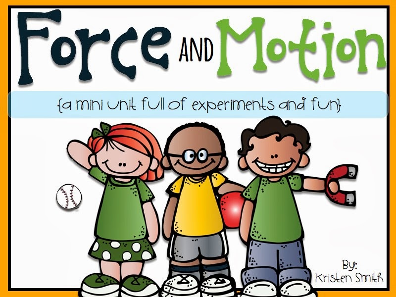 A Day in First Grade | Fun with force and motion!