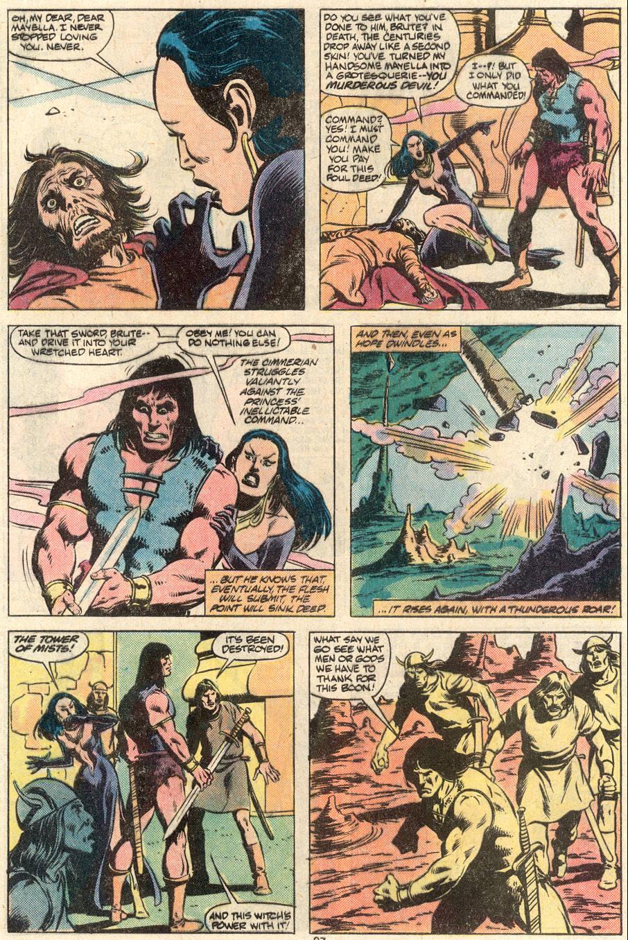 Conan the Barbarian (1970) Issue #124 #136 - English 21