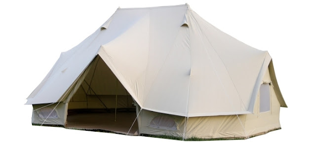 Grosgrain 8 steps to glamping for Canvas platform tents