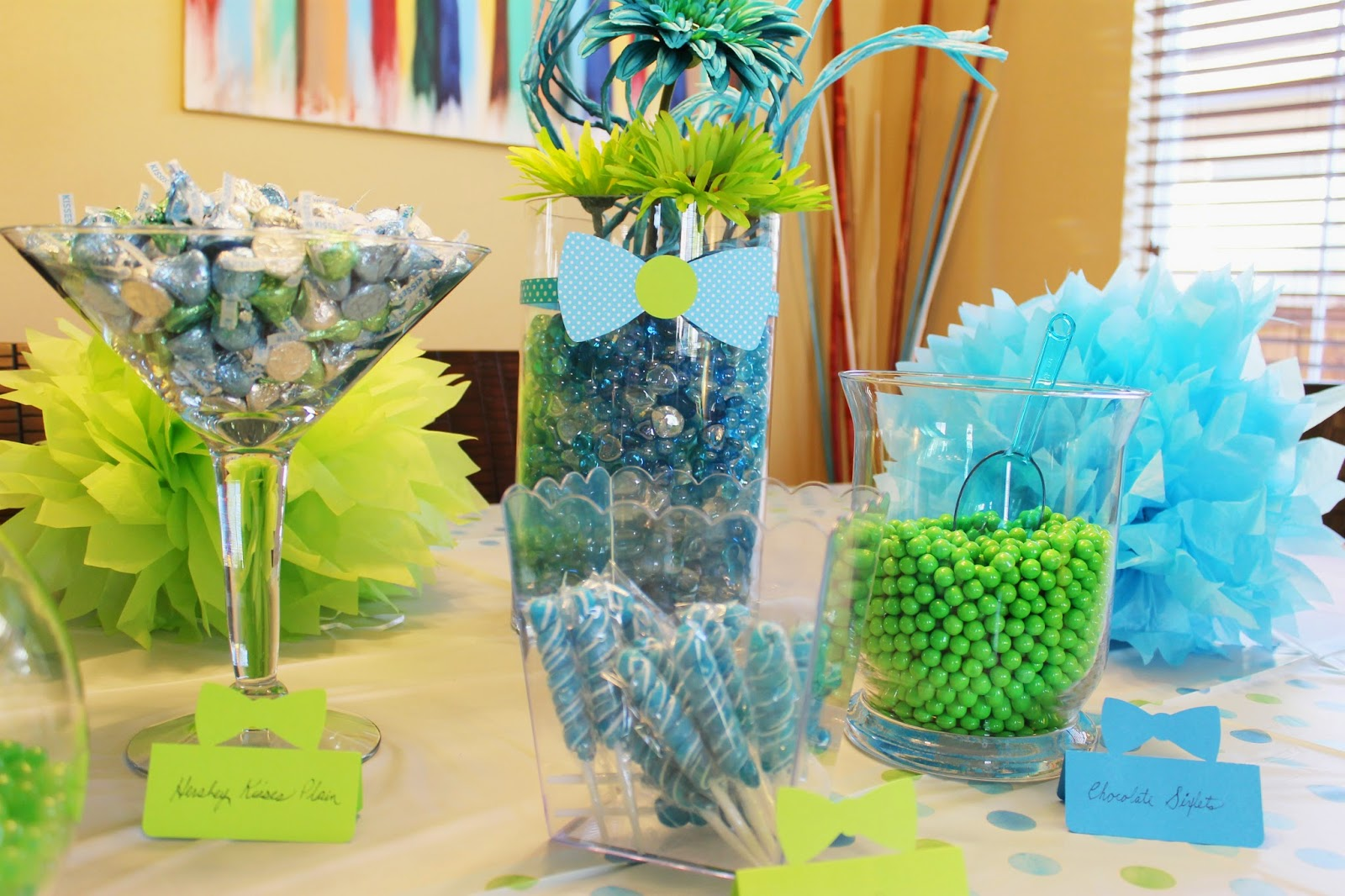 Tiffzippy Baby Shower - Candy bar