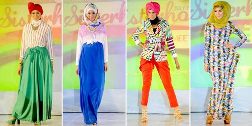 Empat Model Blouse Batik Wanita