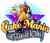 เกมส์ Cake Mania - Lights, Camera, Action!