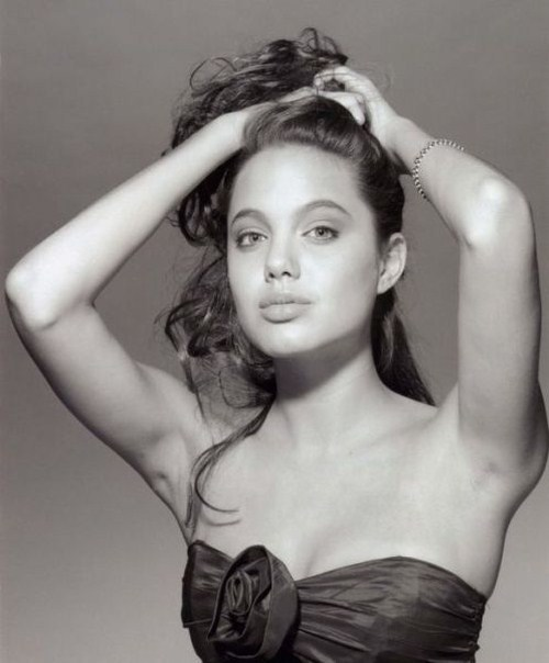 Hot Angelina Jolie S Youth Model Photos Hottest Pictures