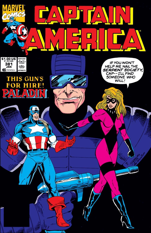 Captain America (1968) Issue #381 #314 - English 1