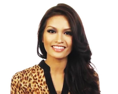 Janine Tugonon answers questions on Miss Universe 2012 interview