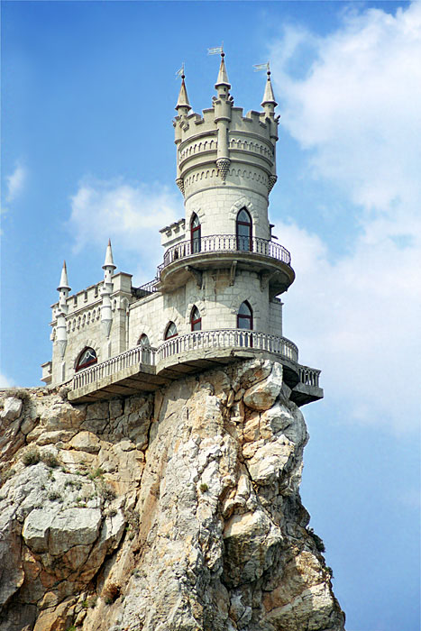 Swallow Nest Castle CanuckAbroad Places