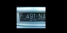 Plat Nomor Mobil Jorok